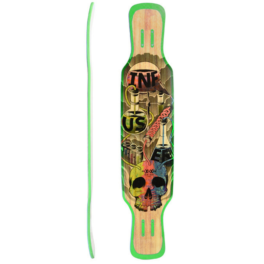 Moonshine Infuser Longboard, Deck and Complete