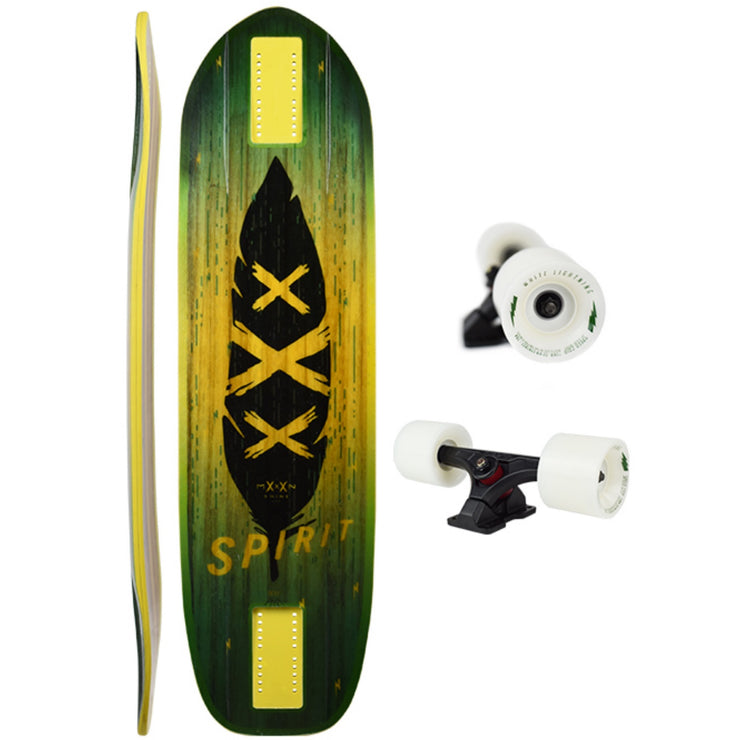 Moonshine Spirit Longboard, Deck and Complete
