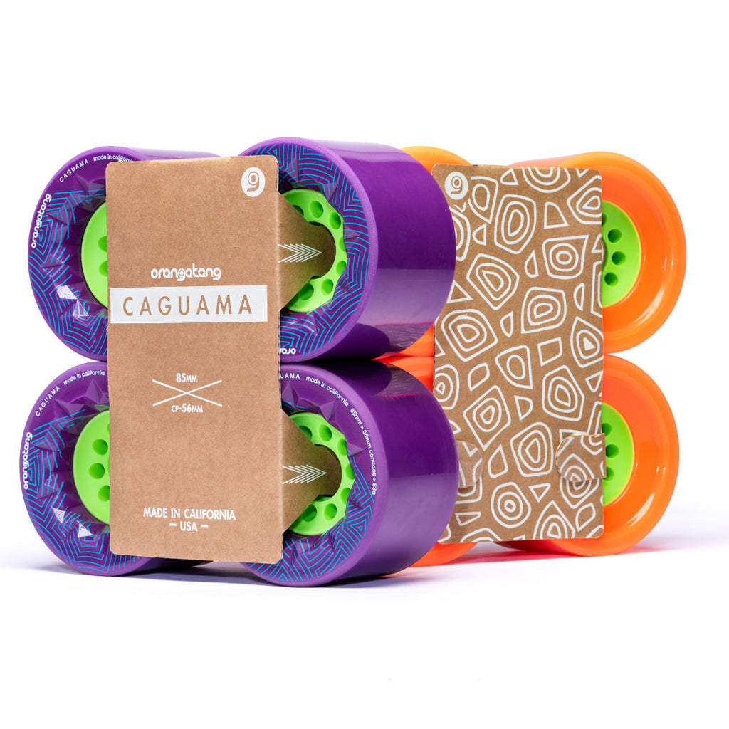 Orangatang Caguama Longboard Wheels, 85mm