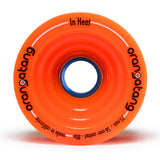 Orangatang In Heat Longboard Wheels, 75mm