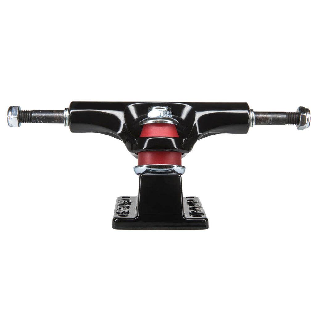 Paris Street Trucks Pair for Longboards and Skateboards [Black, 129mm]