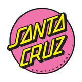 Santa Cruz Classic Dot Sticker, Pink, 1.0""