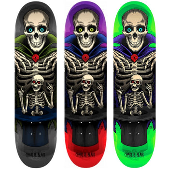 Powell-Peralta Charlie Blair Magician Skateboard, Deck Only