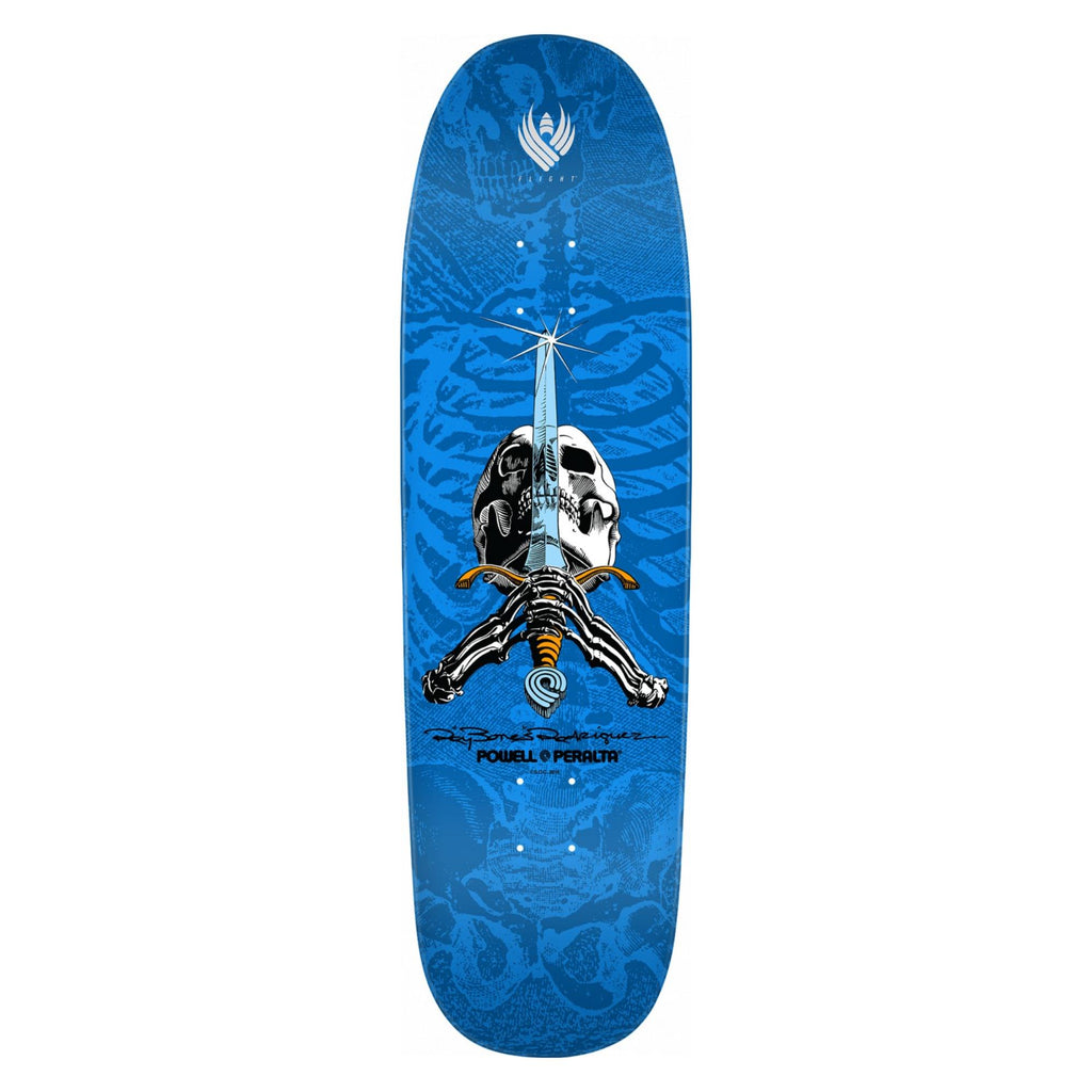 Powell-Peralta Flight Skateboard Deck, Sword & Skull, 9.265""