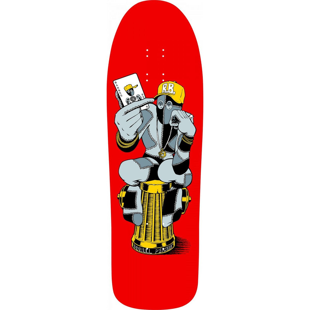 Powell-Peralta Ray Barbee Hydrant Re-Issue Skateboard, Deck Only