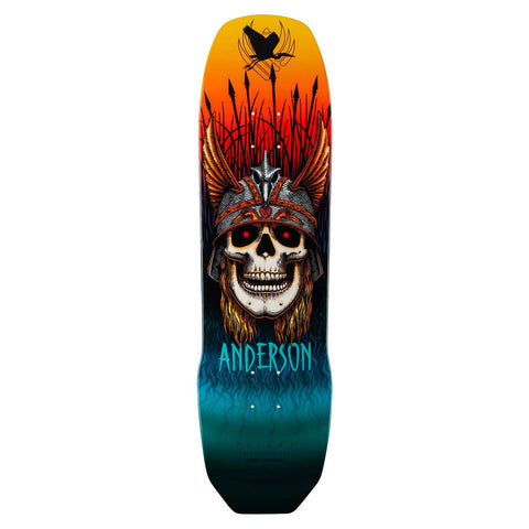 "Powell-Peralta Flight Andy Anderson Crane Skull Pro Skateboard Deck, 8.45"" & 9.13"" LIMIT 2 PER CUSTOMER"
