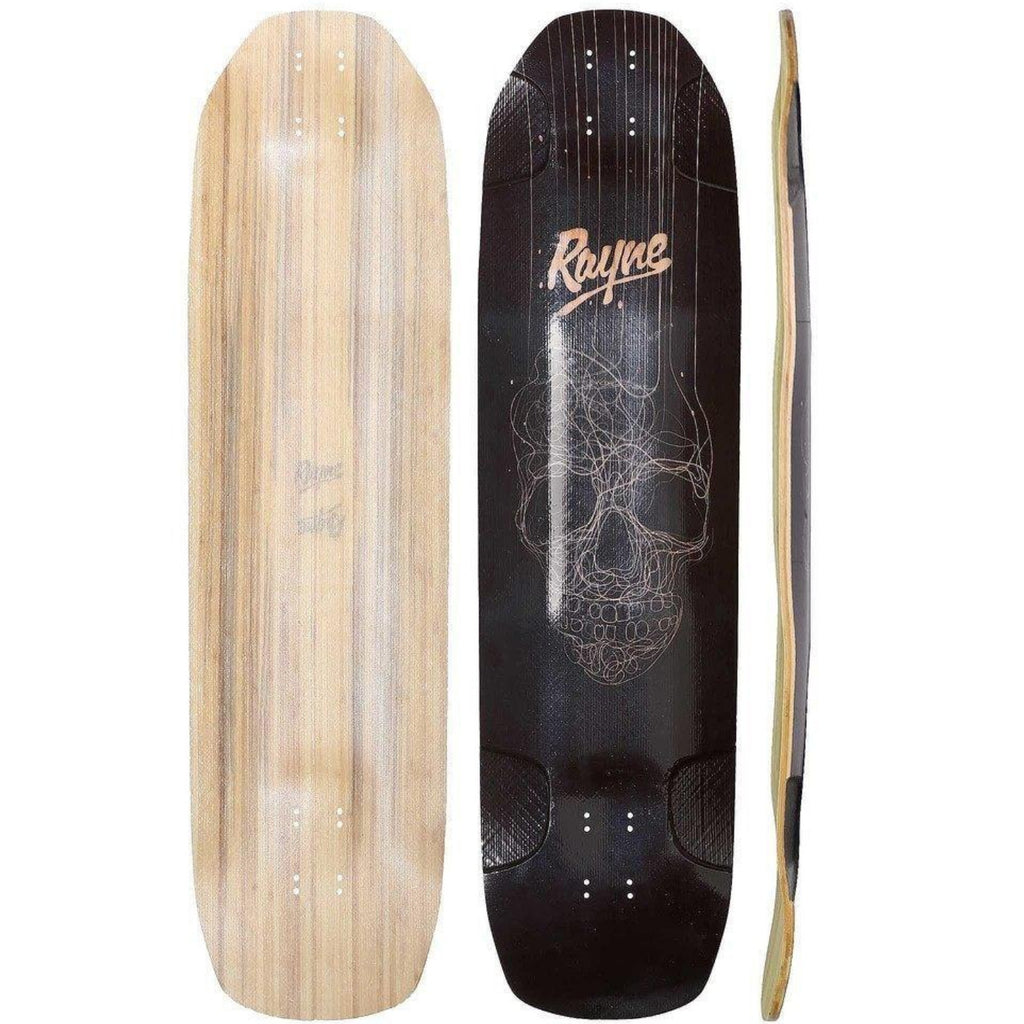 Rayne Darkside Longboard, All Lengths, Deck and Complete