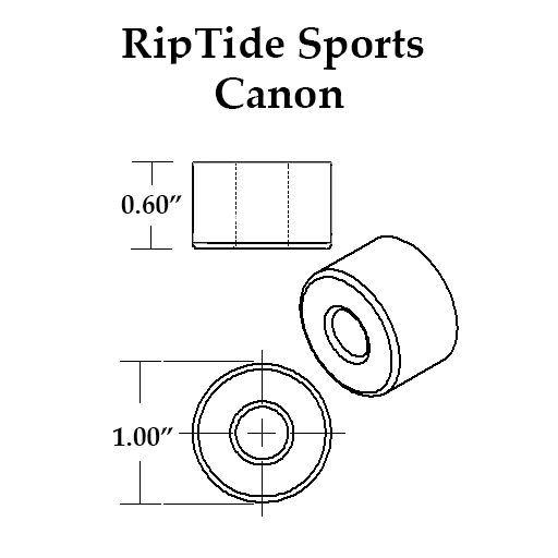 RipTide APS Skateboard Bushings (Canon Paris)