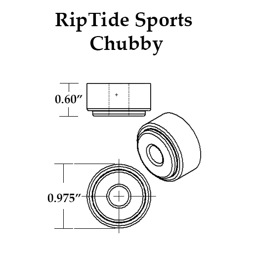 RipTide APS Skateboard Bushings (Chubby)