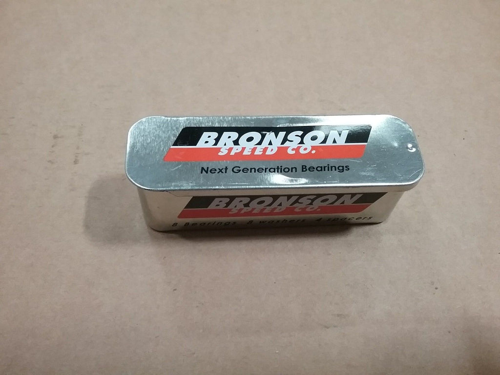 Bronson Speed Co G3 8 Bearings 8 Washers  4 Spacers Open Package