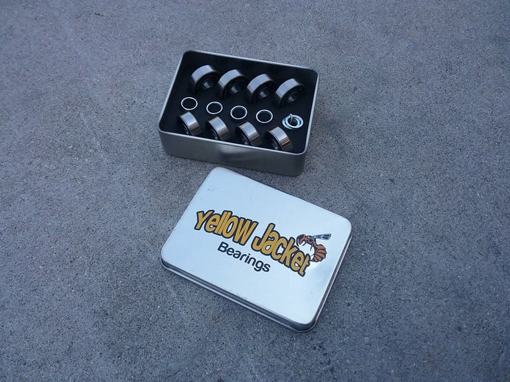 Yellow Jacket Skateboard Bearings