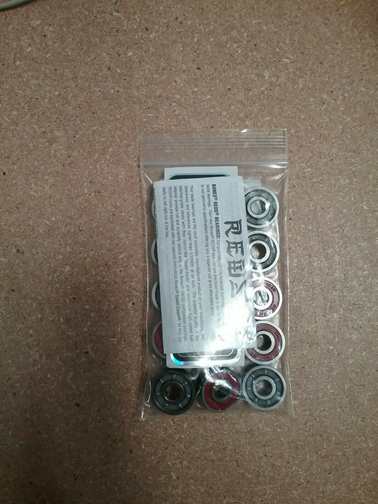 Bones Reds Bearings, 7mm, 16 Pack - No Packaging