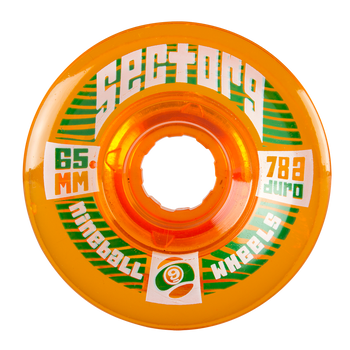 Sector 9 Top Shelf Nineballs Longboard Wheels, 65mm
