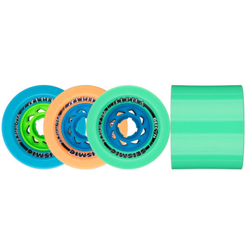 Seismic ALPHA Longboard Wheels, 75.5mm