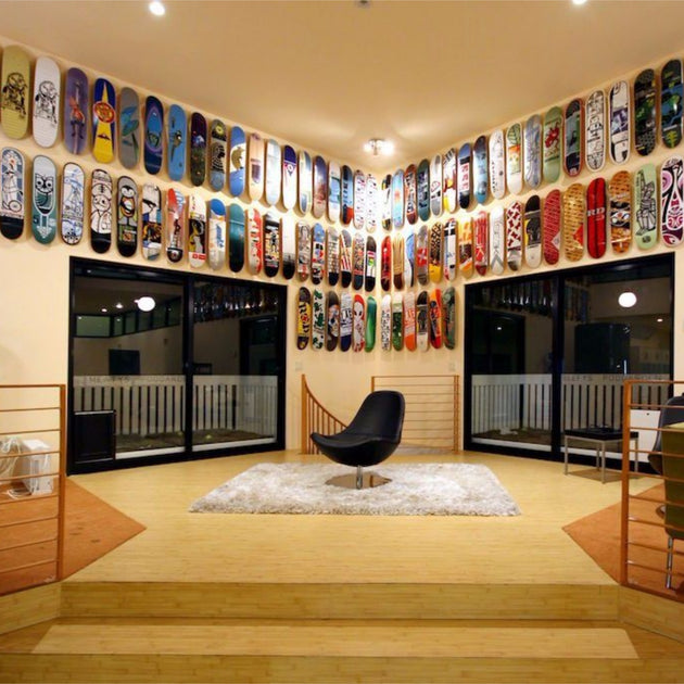 Sk8ology Skateboard Deck Display Wall Mount Stoked Ride Shop