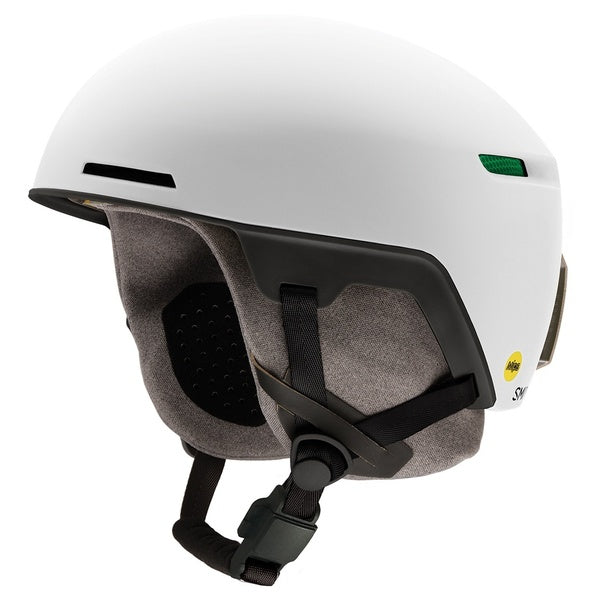 Smith Code Matte White Snowboard and Ski Helmet