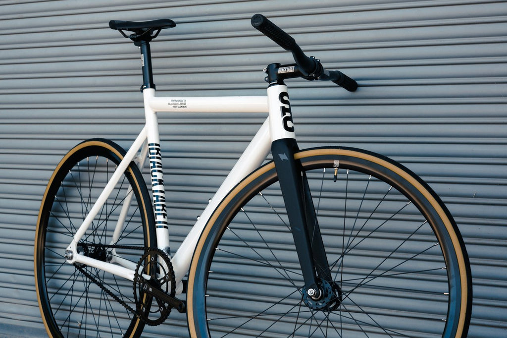 6061 Black Label v2 - Pearl White by State Bicycle Co.