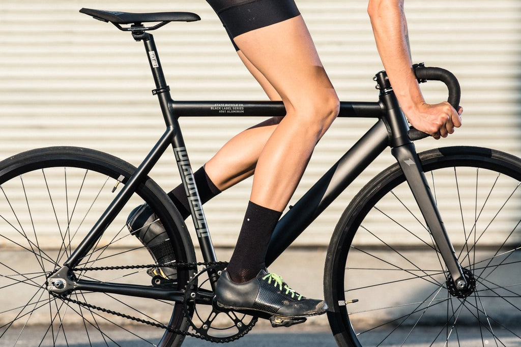 6061 Black Label v2 - Matte Black by State Bicycle Co.