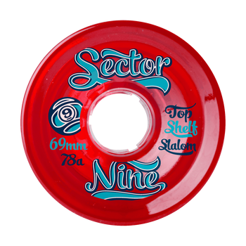Sector 9 Top Shelf Slalom Longboard Wheels, 69mm
