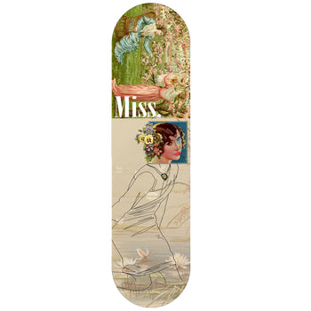 Miss. Skateboards Garden Party, Deck Only