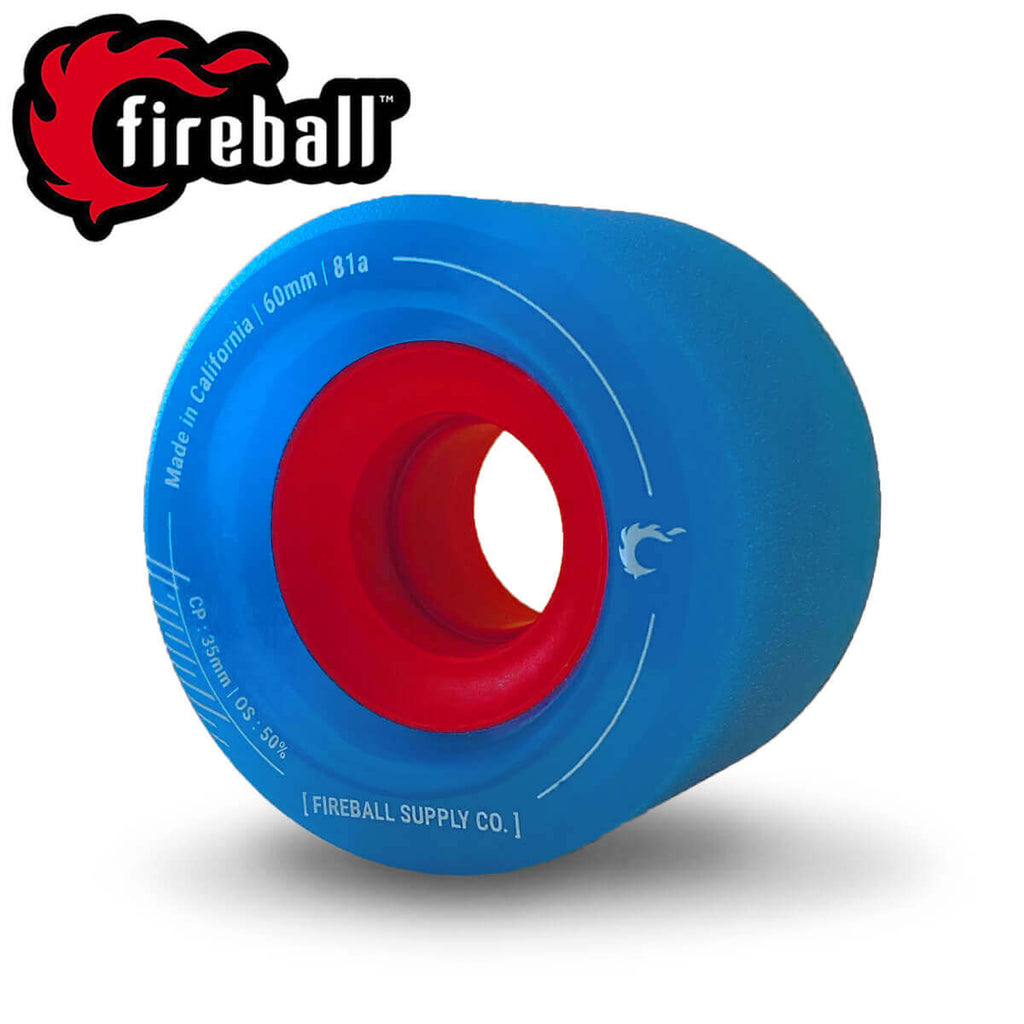 Fireball Tinder 60mm 81a Wheel (Blue, 2020)