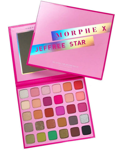 Morphe X The Jeffree Star Artistry  Eyeshadow Palette