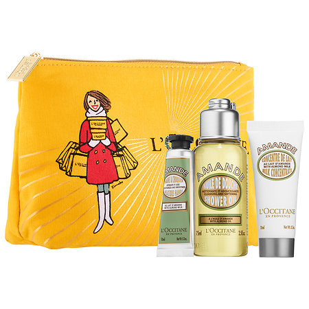 L'occitane Almond Trio Bath & Body