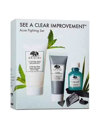 ORIGINS Acne Fighting Set See a Clear Improvement