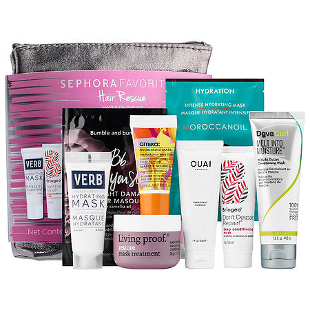Sephora Favorite  Hair Rescue Masks On The Go | Hair Treatment