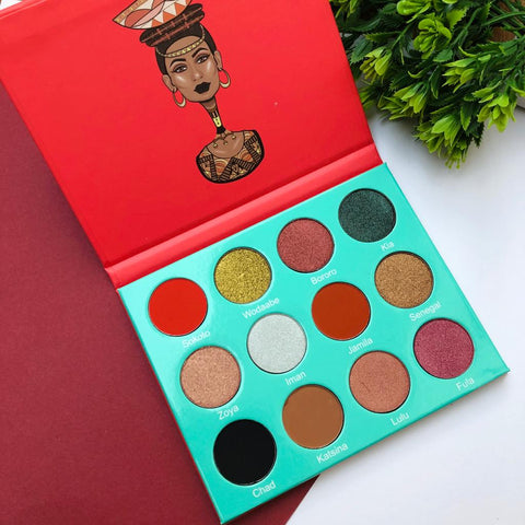 The Saharan By Juvia's Eye Shadow Palette