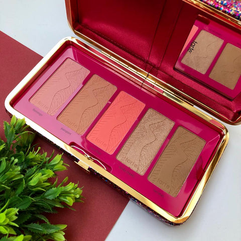 Tarte High Performance Naturals Life Of The Party Clay Blush Palette & Clutch
