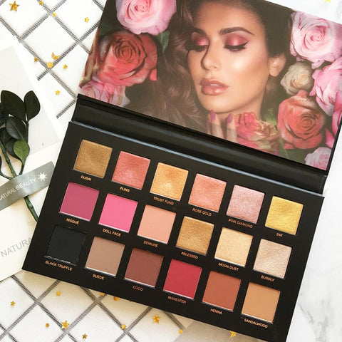 Huda Beauty Rose Gold Palette REMASTERED Eyeshadow Palette