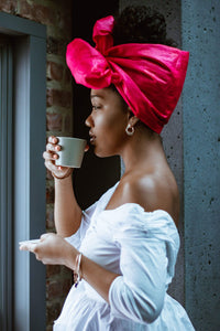 Maison Petite and Bold head wraps, maison petite and bold rose head wraps, head wraps canada
