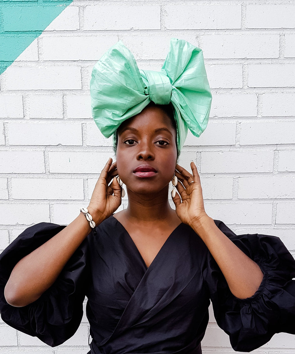 green african head wrap