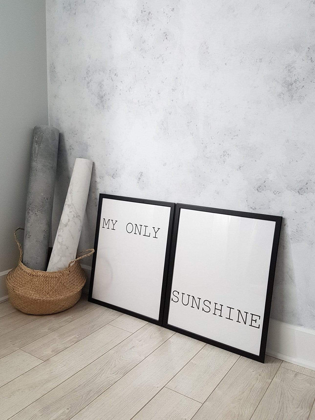 MY ONLY SUNSHINE DUAL PRINTS