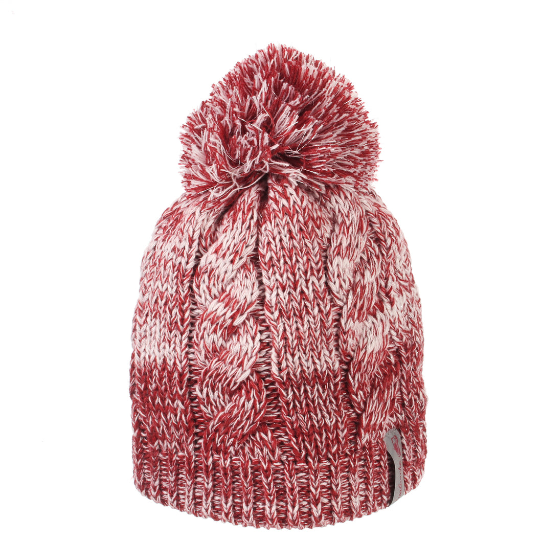 Ladies Avalanche Sparkler Knit Pom