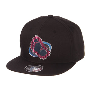 Avalanche Chrome Foot Logo Snapback