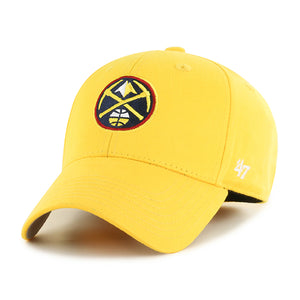 Nuggets Youth Primary Logo Hat - Gold