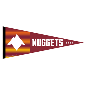 2020-21 Nuggets City Edition Pennant