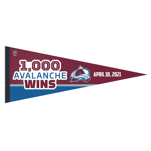 Avalanche 1,000 Wins Pennant