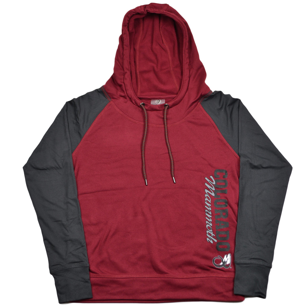 TNT Ladies Funnell Hoody - Mammoth