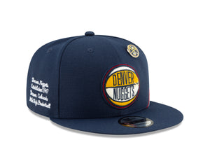Nuggets 2019 Draft Snapback - Navy