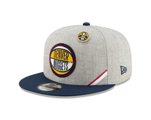 Nuggets 2019 Draft Snapback - Heather Grey