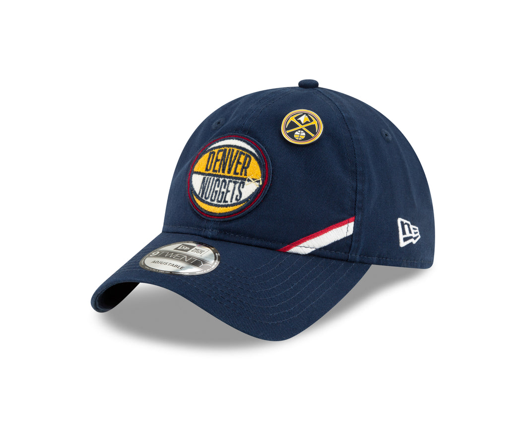 Nuggets 2019 Draft Adjustable Hat - Navy