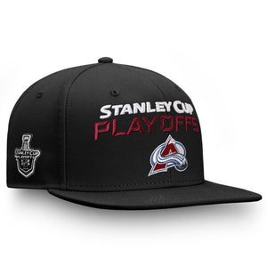 best authentic d3202 dfaa5 Avalanche 2019 Playoff Bound Snapback