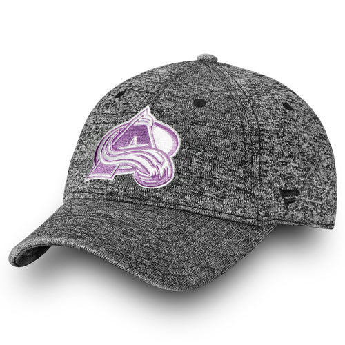 Adjustable Avalanche Hockey Fights Cancer Hat