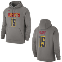 Nuggets Name & Number Player Hoody - Grey