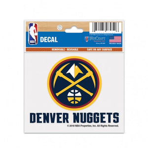 Nuggets 3x4 Logo Decal