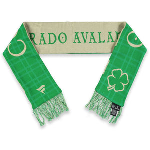 Colorado Avalanche St Patrick's Day Scarf