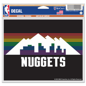 Nuggets 2019 City Edition Multi Use Decal